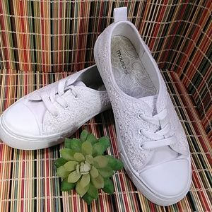 MAURICES CROCHET SNEAKERS